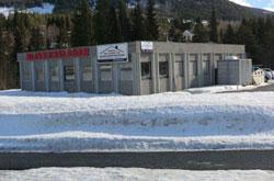 Valdres Tak og Blikk sitt blikkenslagerverksted i Rogne, Valdres